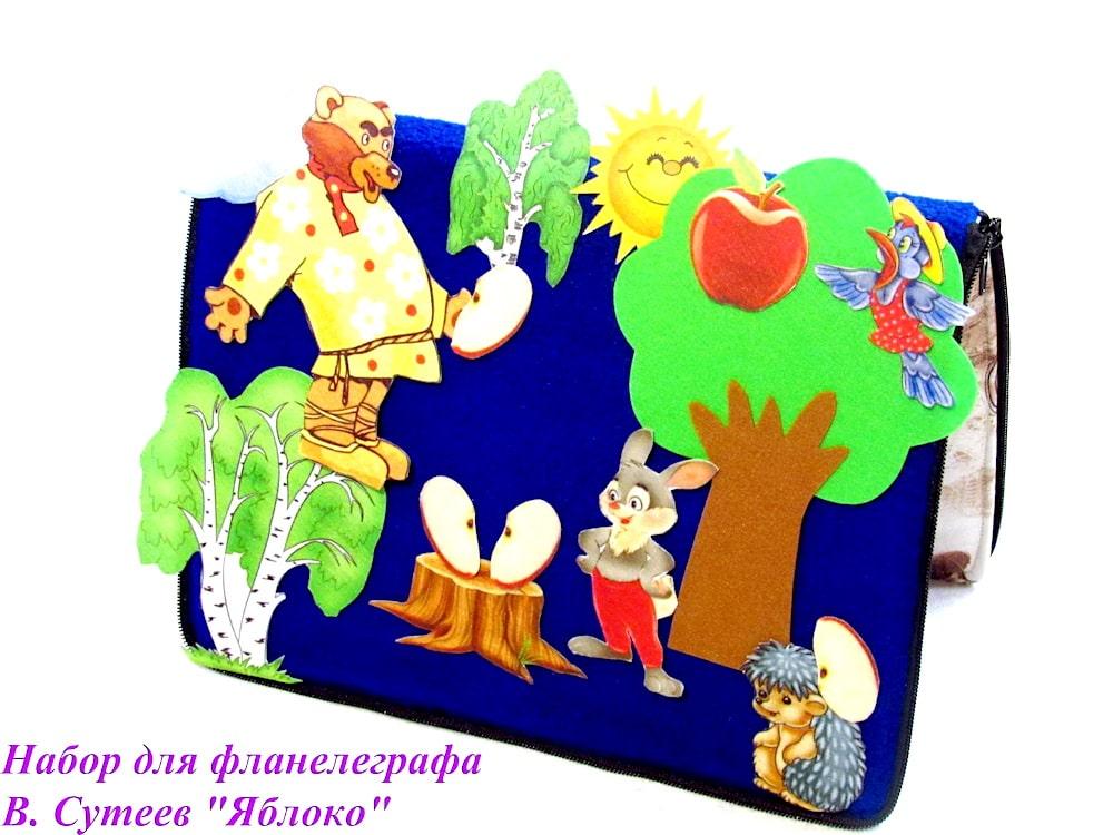 Интерактивная сказкаиз фетра «Яблоко»